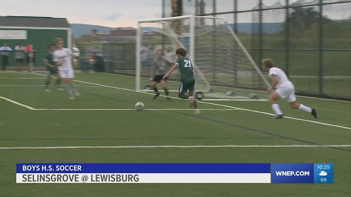 Lewisburg blanks Selinsgrove 5-0 in Boys HS soccer.