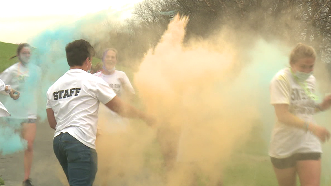 Color run in Luzerne County raises money for sick kids