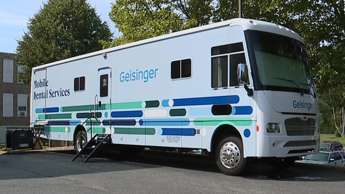 Healthwatch 16:  Geisinger mobile dental unit serves those in need