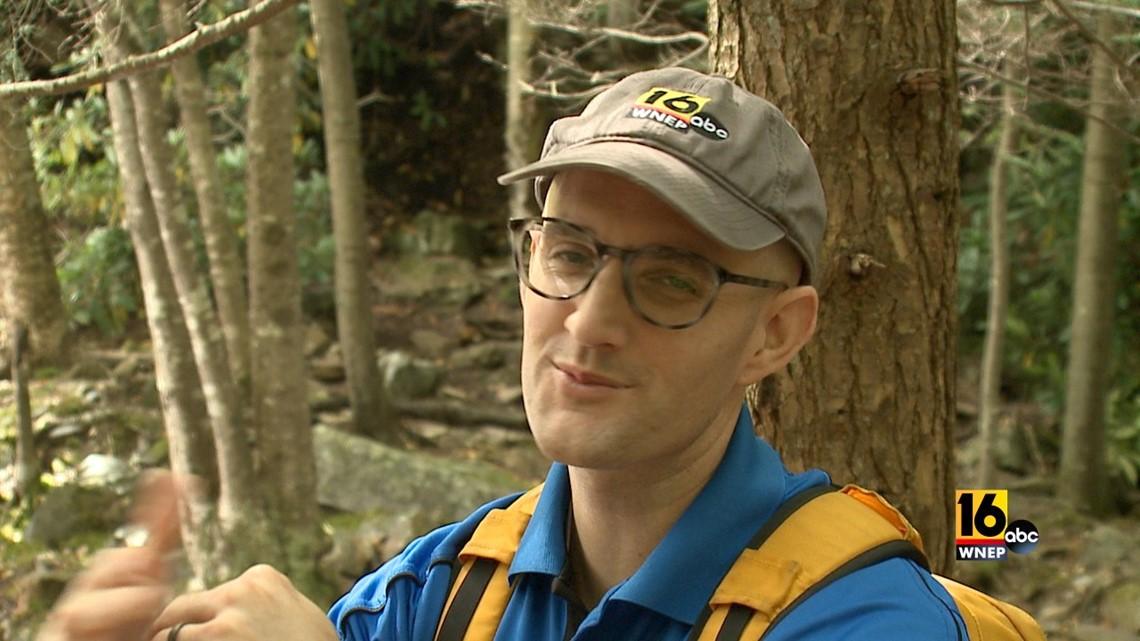 John Hickey takes a refreshing fall hike