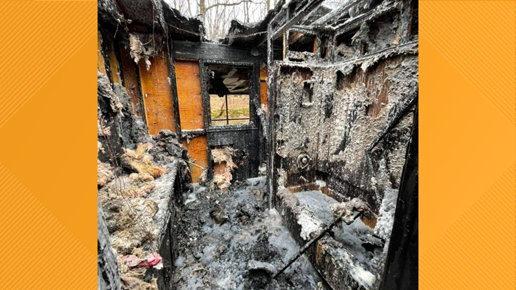 Fire damages home in Monroe County