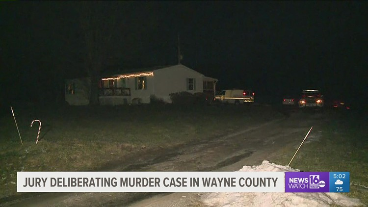 Jury deliberating in Wayne County murder case