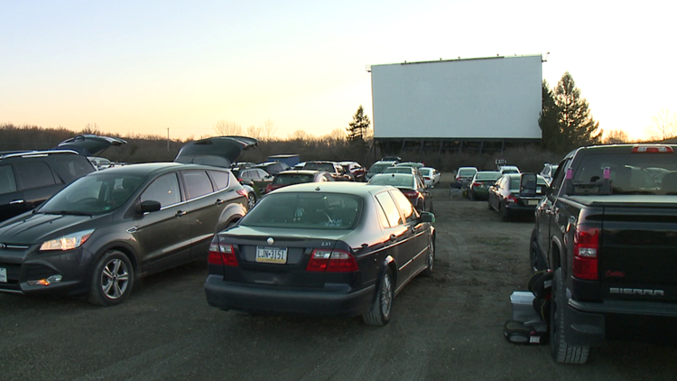 Drive-in theater opens for the season in Carbon County