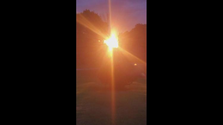 Sun going down in scott township pa