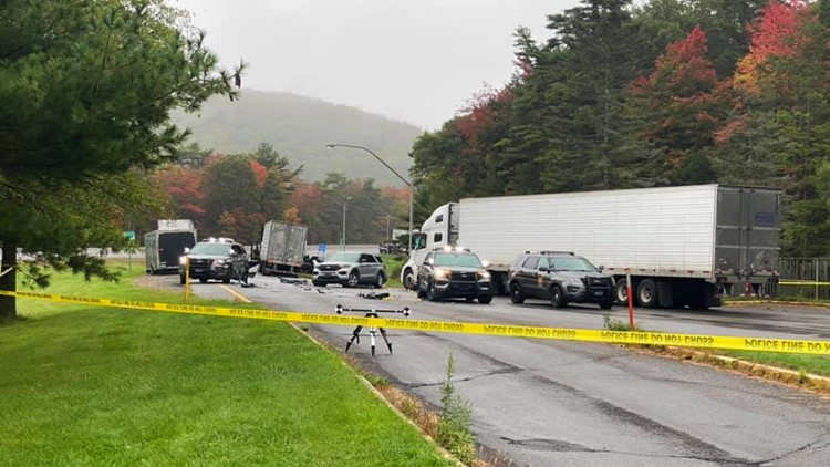 Truck driver dies after standoff, gunfire at Clinton County rest stop