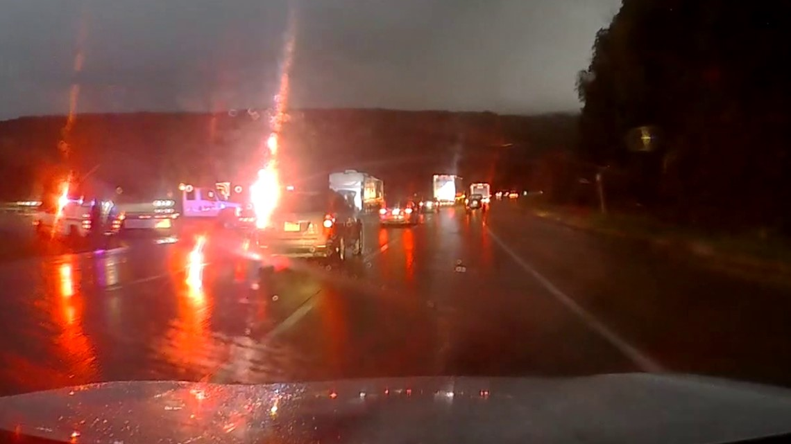 RV crash ties up traffic in Luzerne County