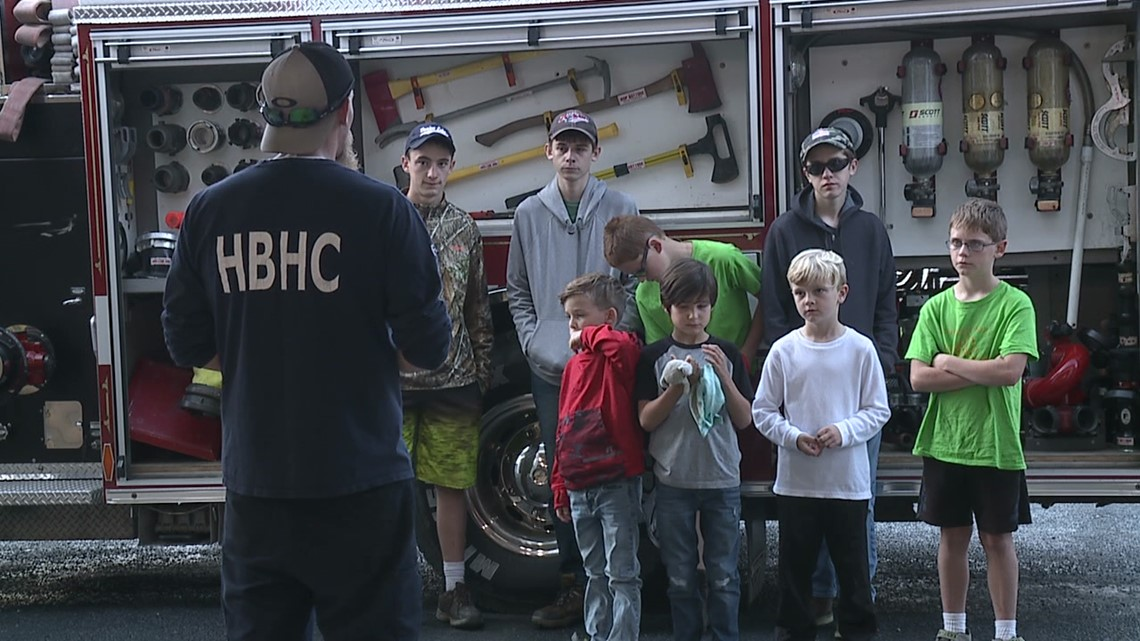 Fire prevention training held in Susquehanna County