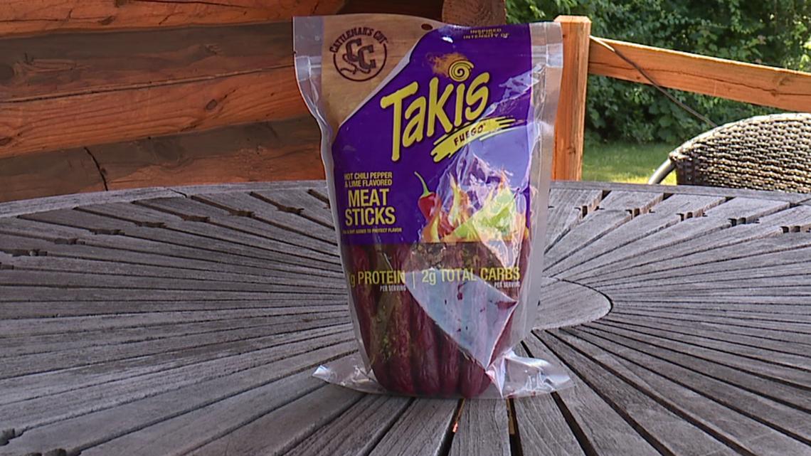 Taste Test: Takis Fuego Meat Sticks