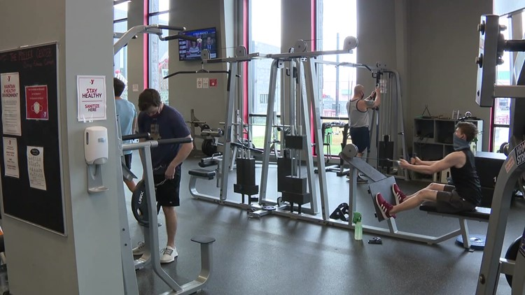 Restrictions easing at fitness centers