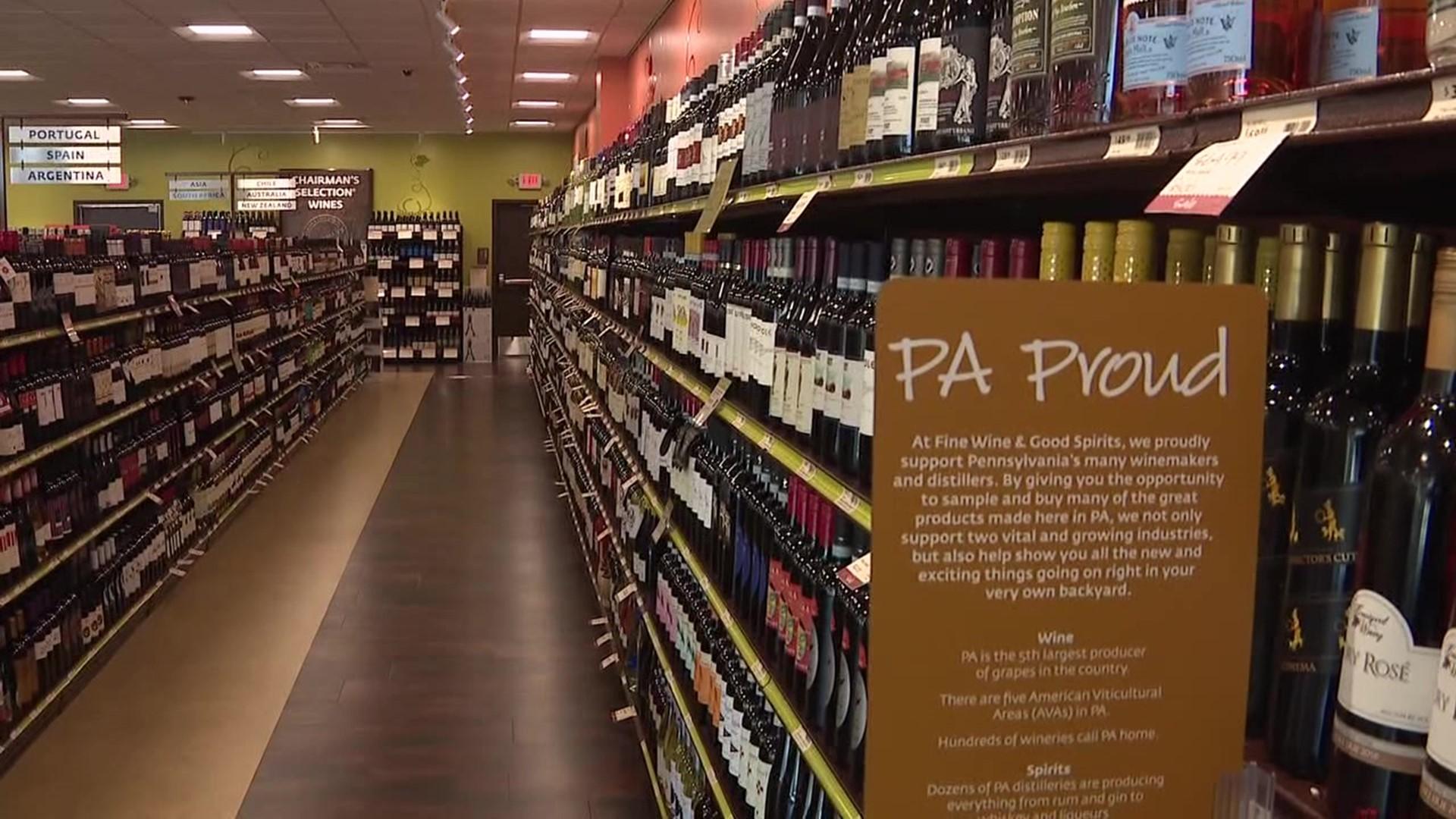 New Fine Wine Good Spirits Store Open In The Poconos Wnep Com