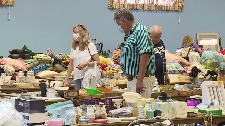Church hosts flea market fundraiser in Lackawanna County