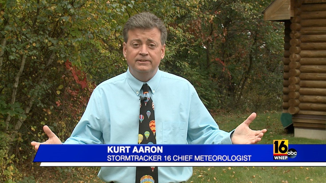 Kurt Aaron knows that major hurricanes can still hit us for many more weeks.