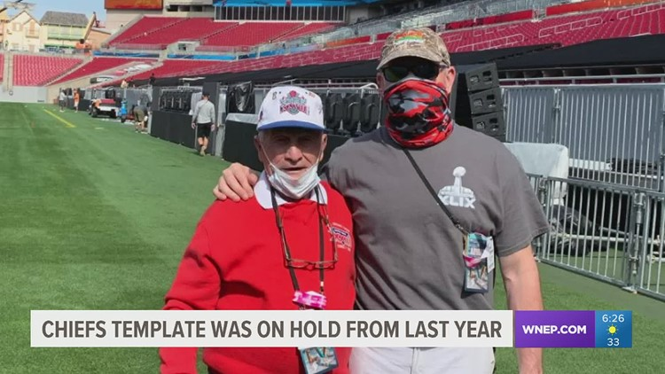 Swoyersville native, George Toma preparing for his 55th consecutive NFL Championship as the Head Groundskeeper