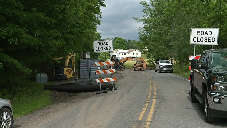 Detour causing a headache for drivers in Wyoming County