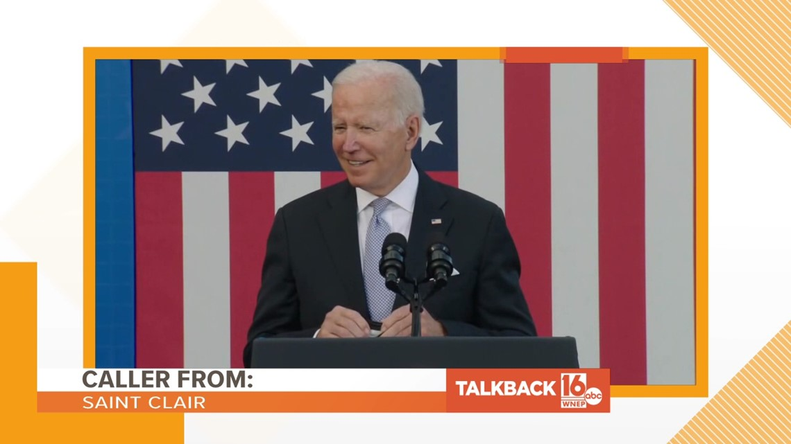 Talkback 16: President Biden's hometown visit