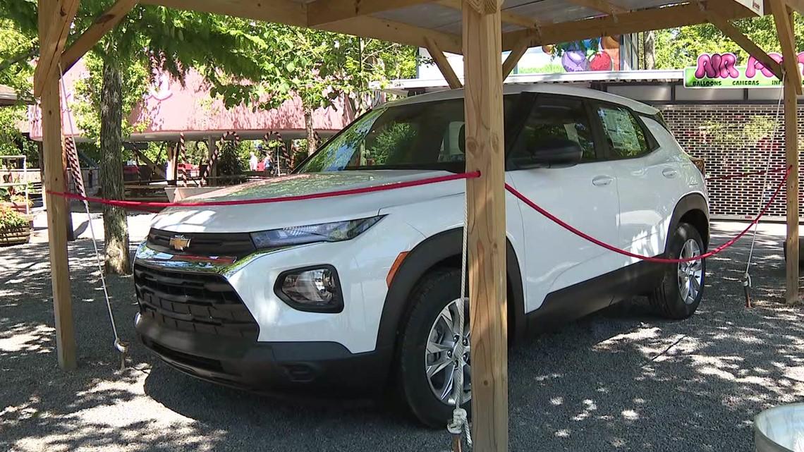 Work at Knoebels, win an SUV