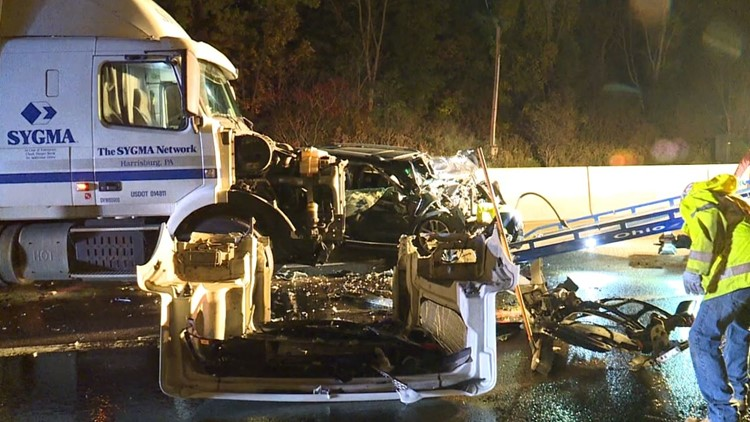 One dead after wrong-way crash on Interstate 81 in Lackawanna County