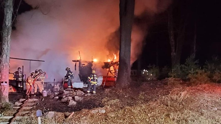 Man dies after Pike County fire