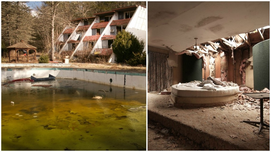 Honeymoon Is Over Photographer Shares Heartbreaking Look At Abandoned Poconos Resorts Wnep Com