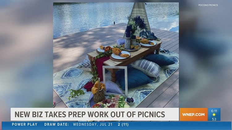 New business in the Poconos takes the work out of picnics