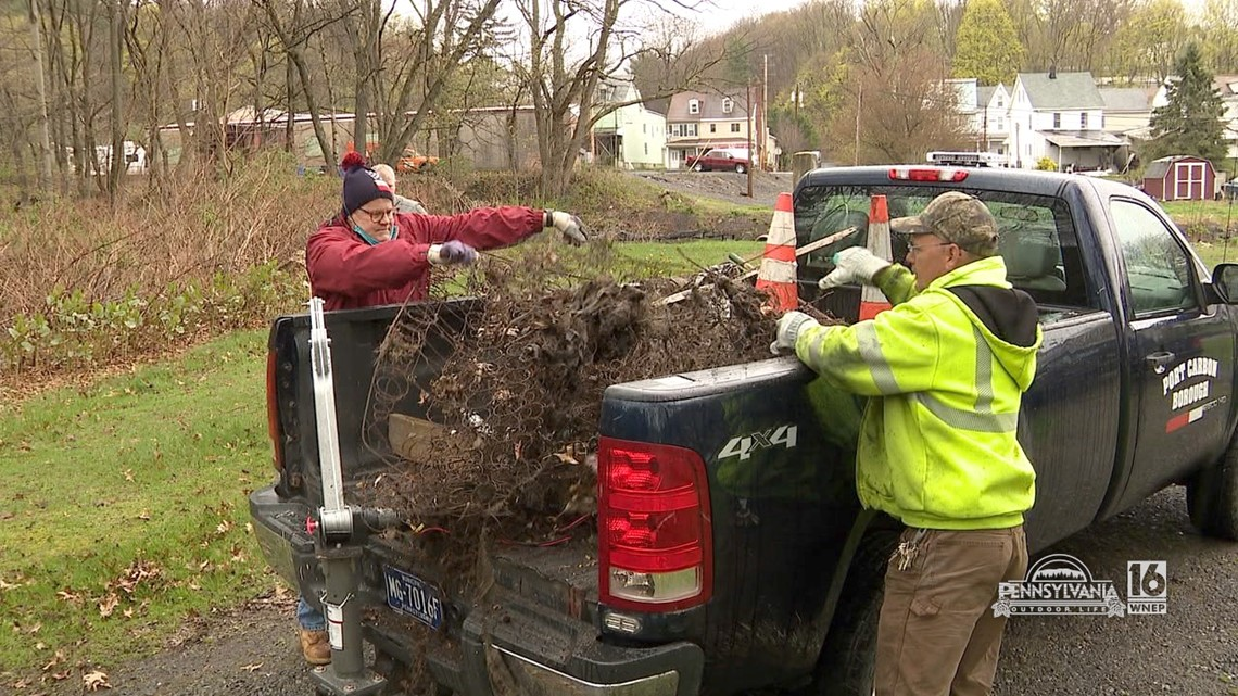 Schuylkill Headwaters Association Stream Clean Up