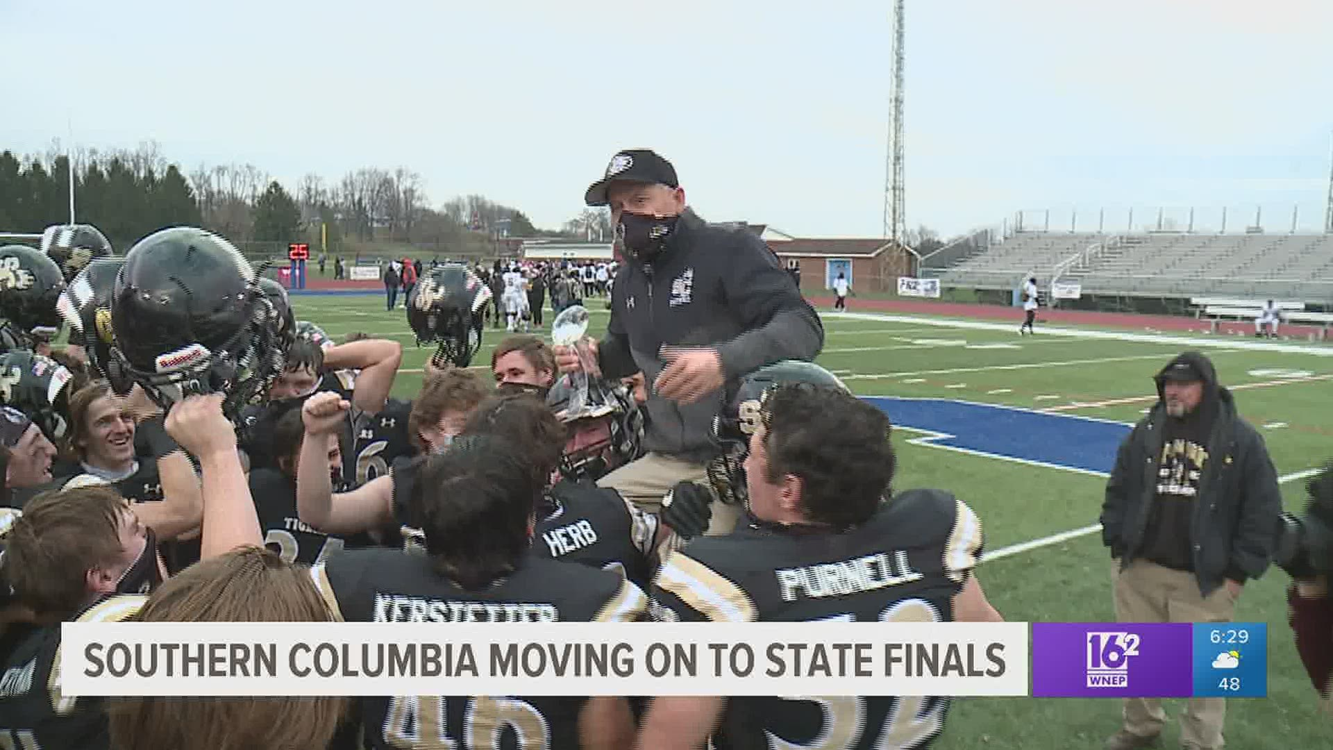 Southern Columbia Defeats Bishop Mcdevitt 42 14 And Heads To Hershey For The State Title Game Wnep Com