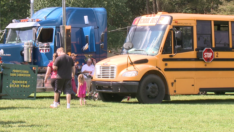 Touch-A-Truck benefits Dietrich Theater in Tunkhannock