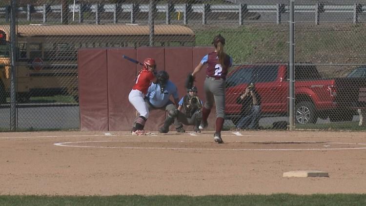 Loyalsock Mercy-Ruled Bloomsburg 12-1 In 6 Innings In High School Softball