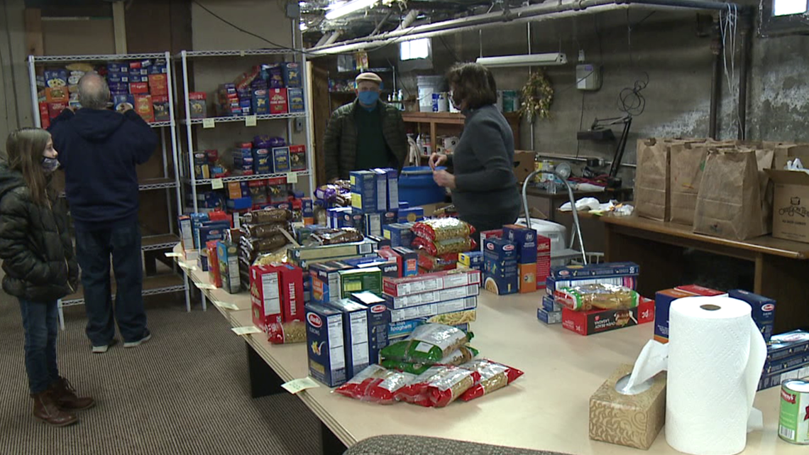 Feeding families in need in Luzerne County