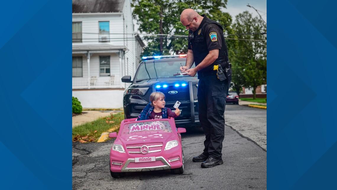 Reasons to smile: Adorable Orwigsburg girl's sweet bus stop snapshots