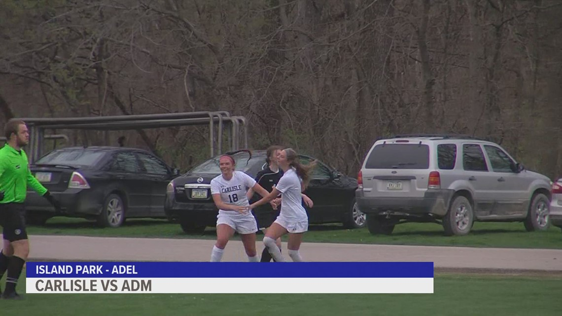 Carlisle Wildcats top ADM in high-scoring girls soccer showdown