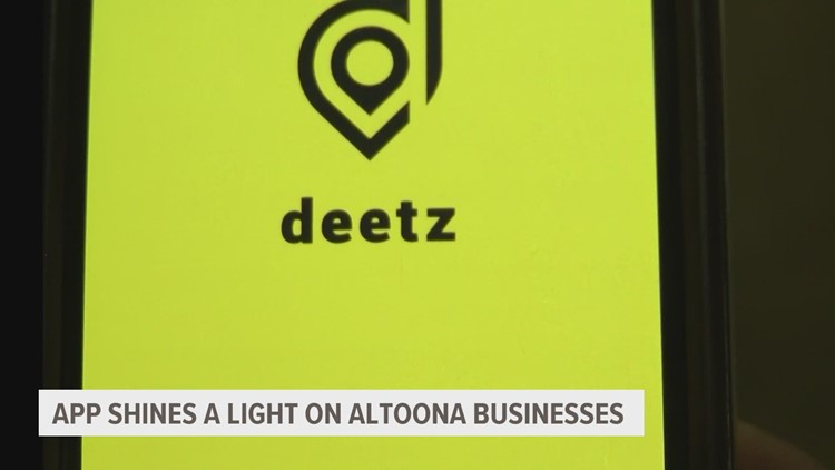App shines a light on Altoona businesses