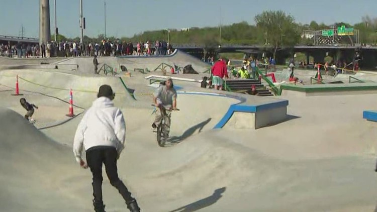 Largest US skatepark opens in Des Moines less than 2 weeks before Olympic qualifying events