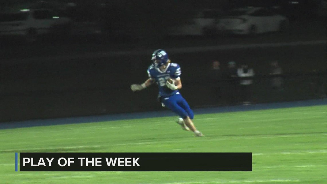Wyckoff Heating & Cooling Play of the Week: Carter Durflinger returns kickoff for a TD