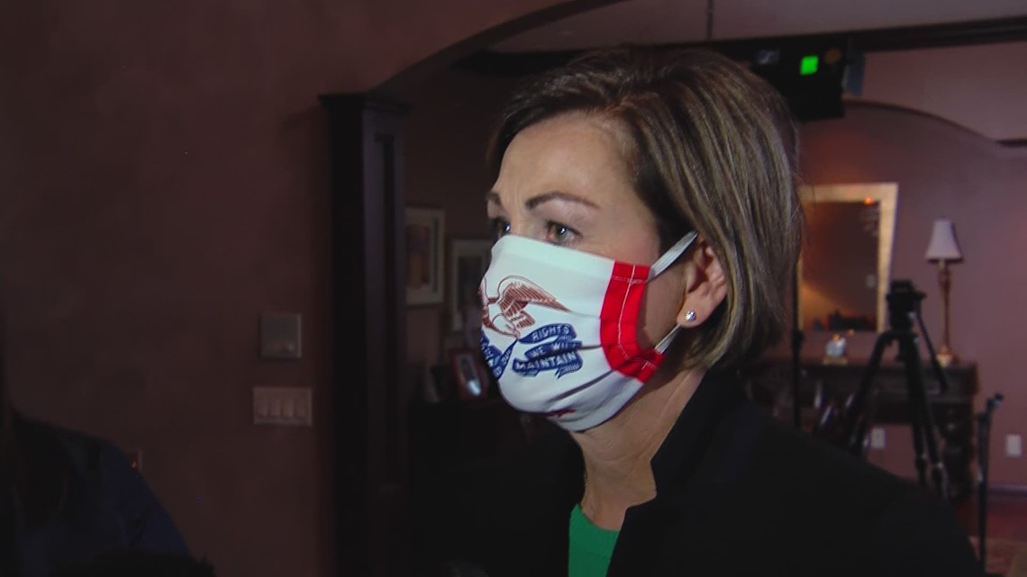 Gov. Kim Reynolds responds to audit alleging misuse of CARES Act funding