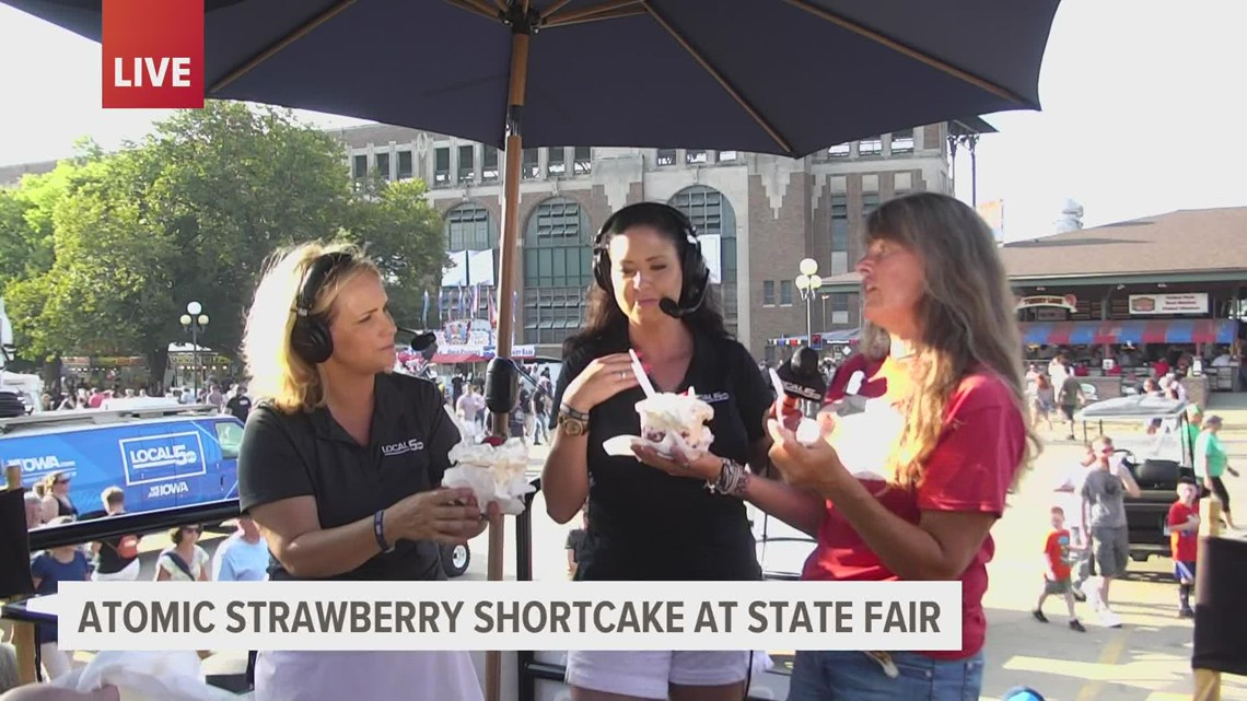 Fair Food 2021: Atomic Strawberry Shortcake with Center Grove Orchard
