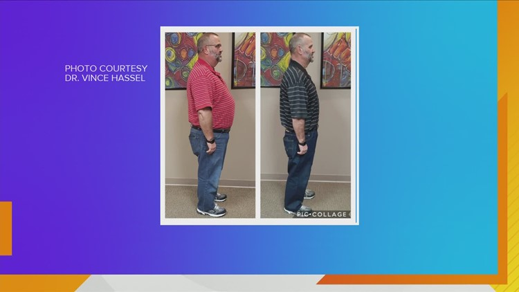 Man loses over 70lbs using Dr. Hassel's weight loss program!