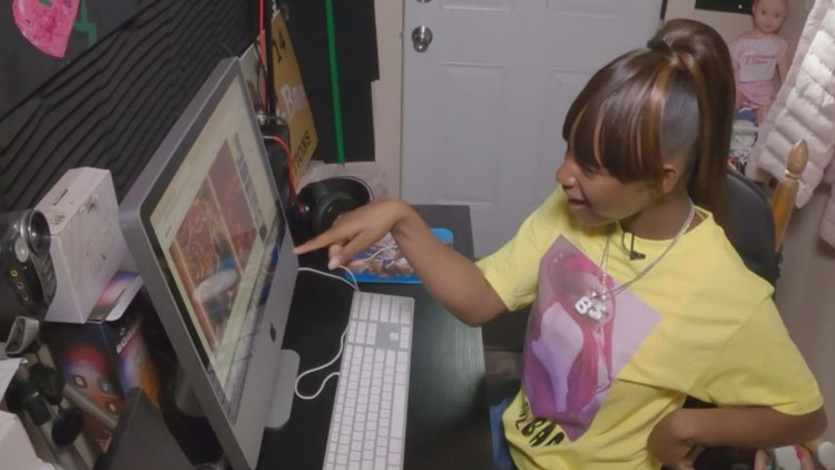 15-year-old Des Moines girl looking to break through male-dominated hip-hop industry