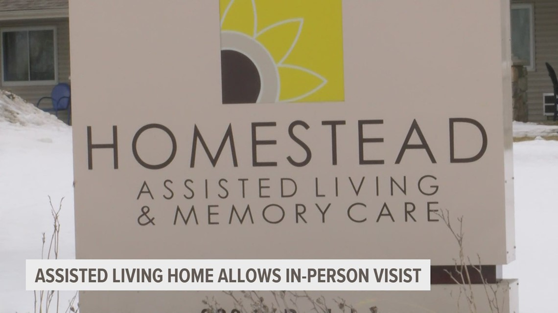 Group of assisted living communities welcoming back family and friends for in-person visits
