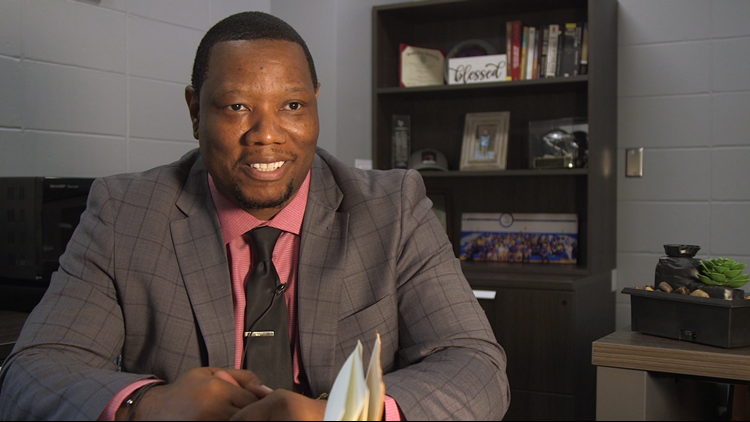 Get to know Louis Fountain: Johnston CSD's director of Equity, Inclusion, and Belonging