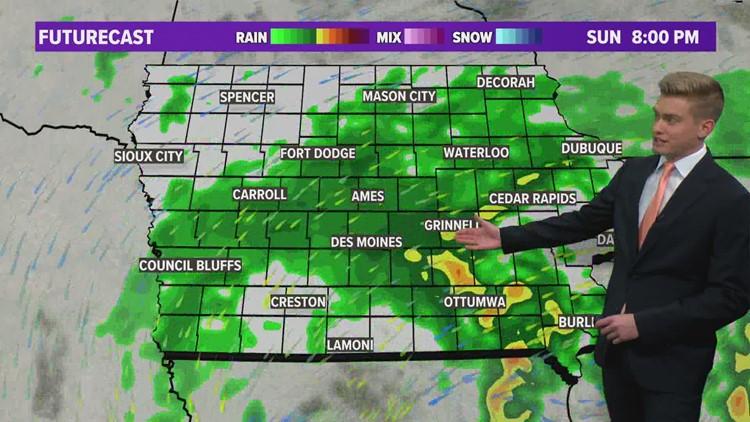 Des Moines Weather Forecast 10-23-2021