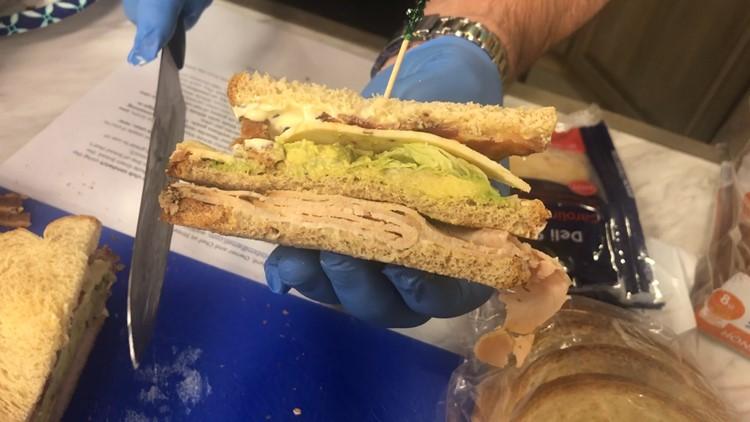 BEYOND LIVE: Delightful Triple Decker Club Sandwich!