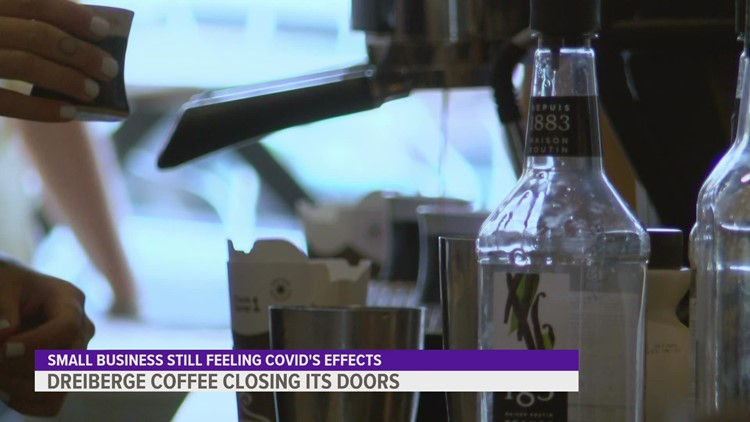 Downtown Des Moines coffee shop shuts down, owner calls it a 'heartbreaking' decision