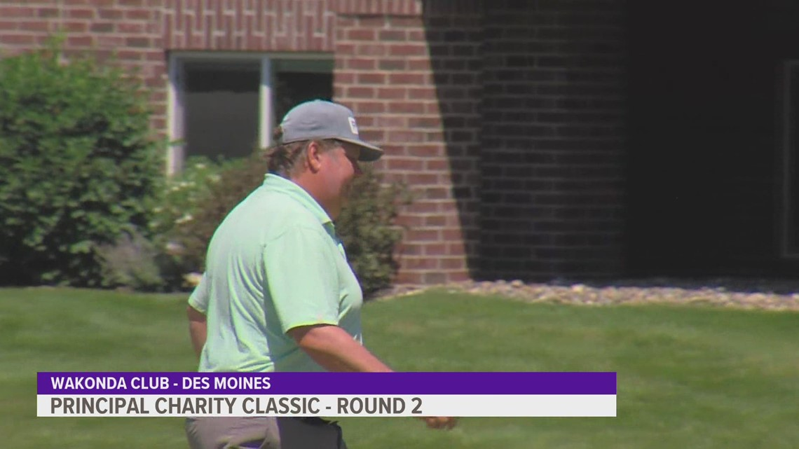 2021 Principal Charity Classic: Round two sees clear cut leader emerge
