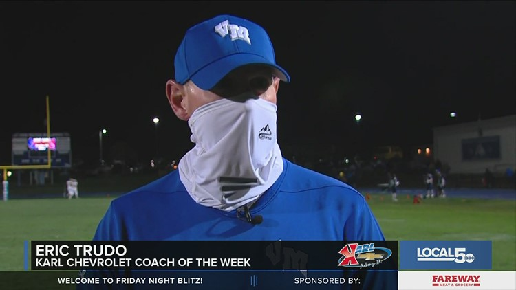 Karl Chevrolet Coach of the Week: Eric Trudo, Van Meter