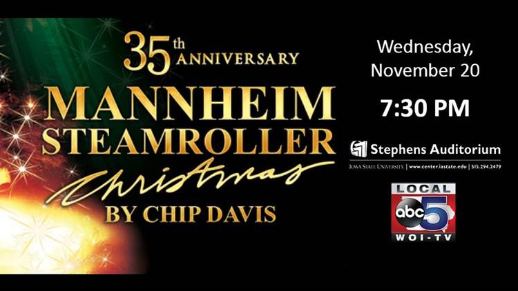Win 4 tickets to Mannheim Steamroller at Stephens Auditorium