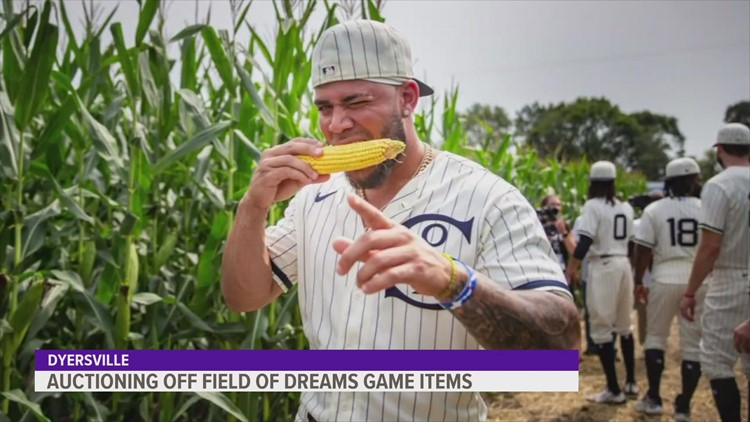 Field of Dreams game memorabilia auctioned off for a good cause