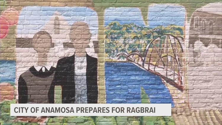 RAGBRAI 2021: Anamosa prepares to host overnight stop