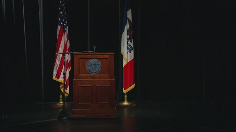 Gov. Kim Reynolds holds weekly press conference (April 21, 2021)