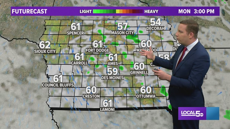 Evening Weather Update: May 9, 2021